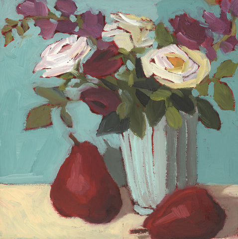 1258: Red Pears and Blue Skies