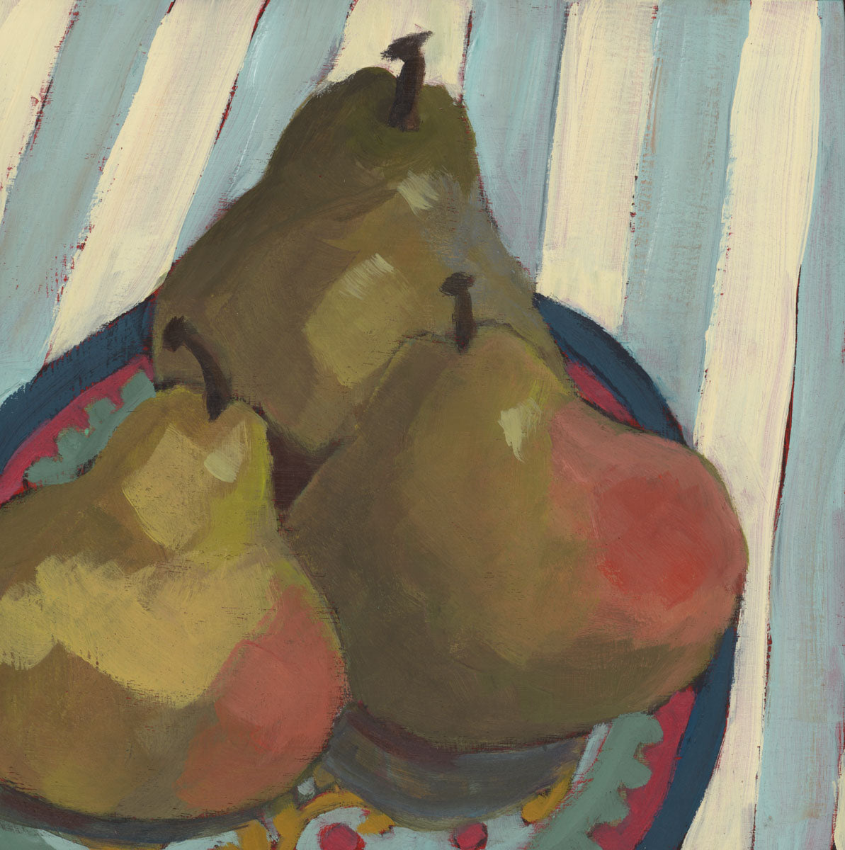 0858: A Trinity of Pears