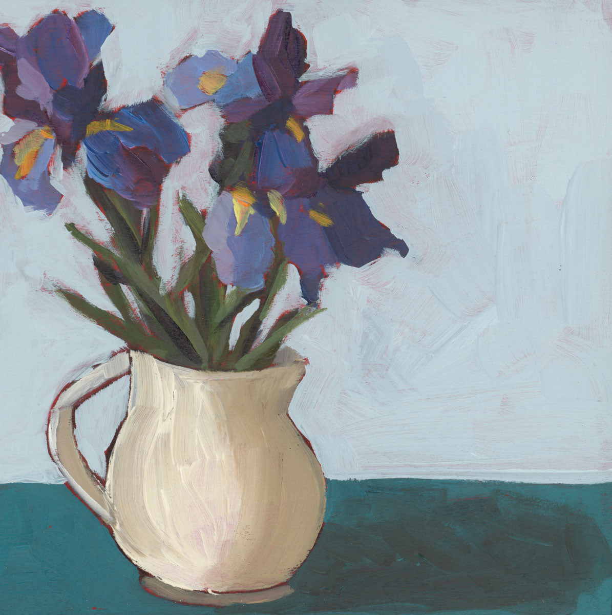 1232: Jug of Irises