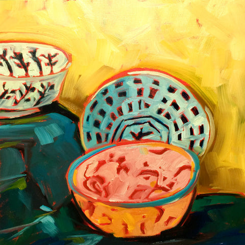 0439: Bowl Study in Oils