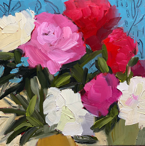 "1588: ""Thursday Morning, Last Week of the Peonies"""