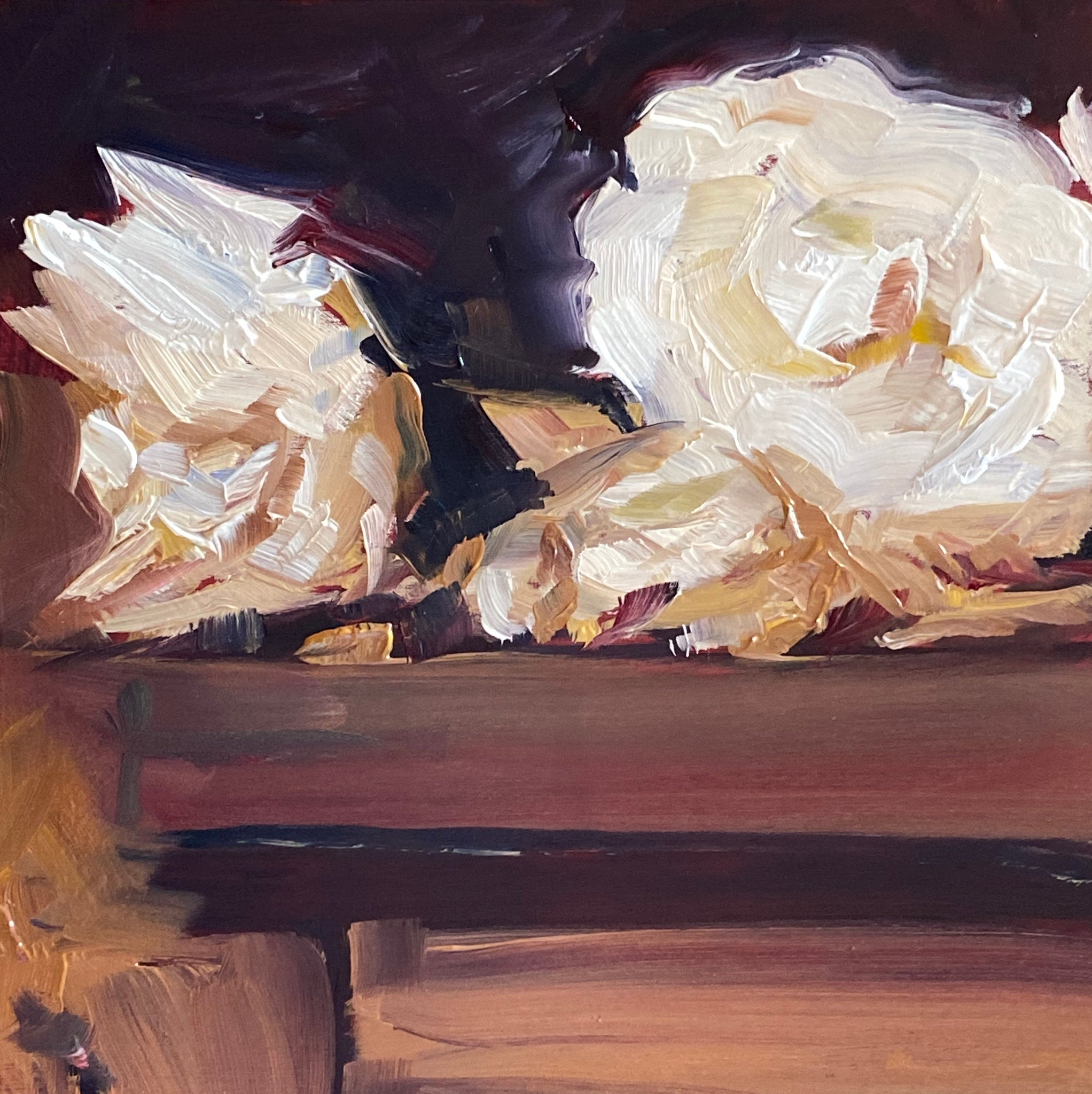 1687: Study of Roses by John Singer Sargent