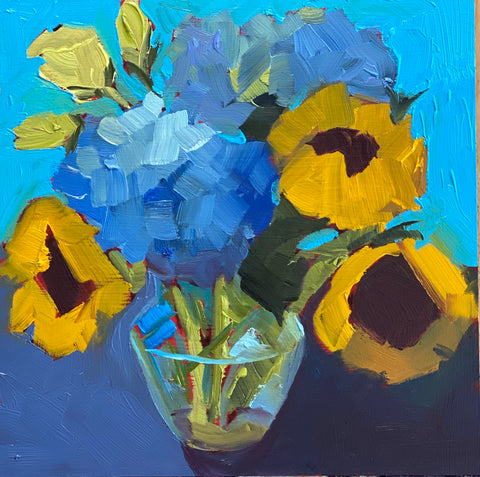 1646: Blue and Yellow on a Summer's Day