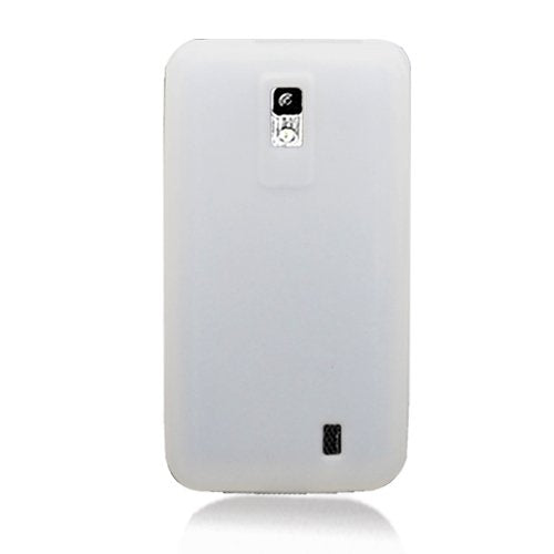 Eagle Cell SCLGVS920S11 Barely There Slim and Soft Skin Case for LG Spectrum VS920 - Retail Packaging - T-Clear