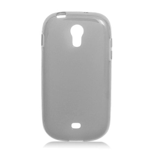 Eagle Cell Transparent Frosted Pattern Skin Case for Samsung Galaxy Light/T399 - Retail Packaging - Black