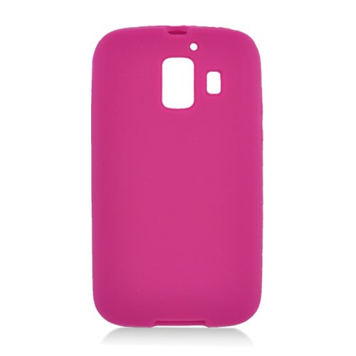 Eagle Cell SCHWU8665S04 Barely There Slim and Soft Skin Case for Huawei Fusion 2 U8665 - Retail Packaging - Hot Pink