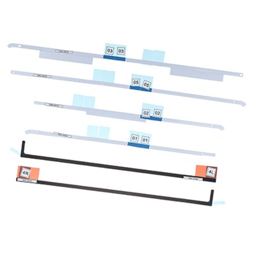 (076-1416, 076-1422, 076-1437) LCD Display Adhesive Tape Kit - Apple iMac 21.5 A1418 (Late 2012-Retina 4K Late 2015)