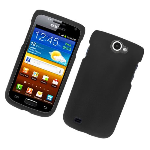 Eagle Cell Samsung Exhibit II 4G/T679 Rubber Case - Retail Packaging - Black