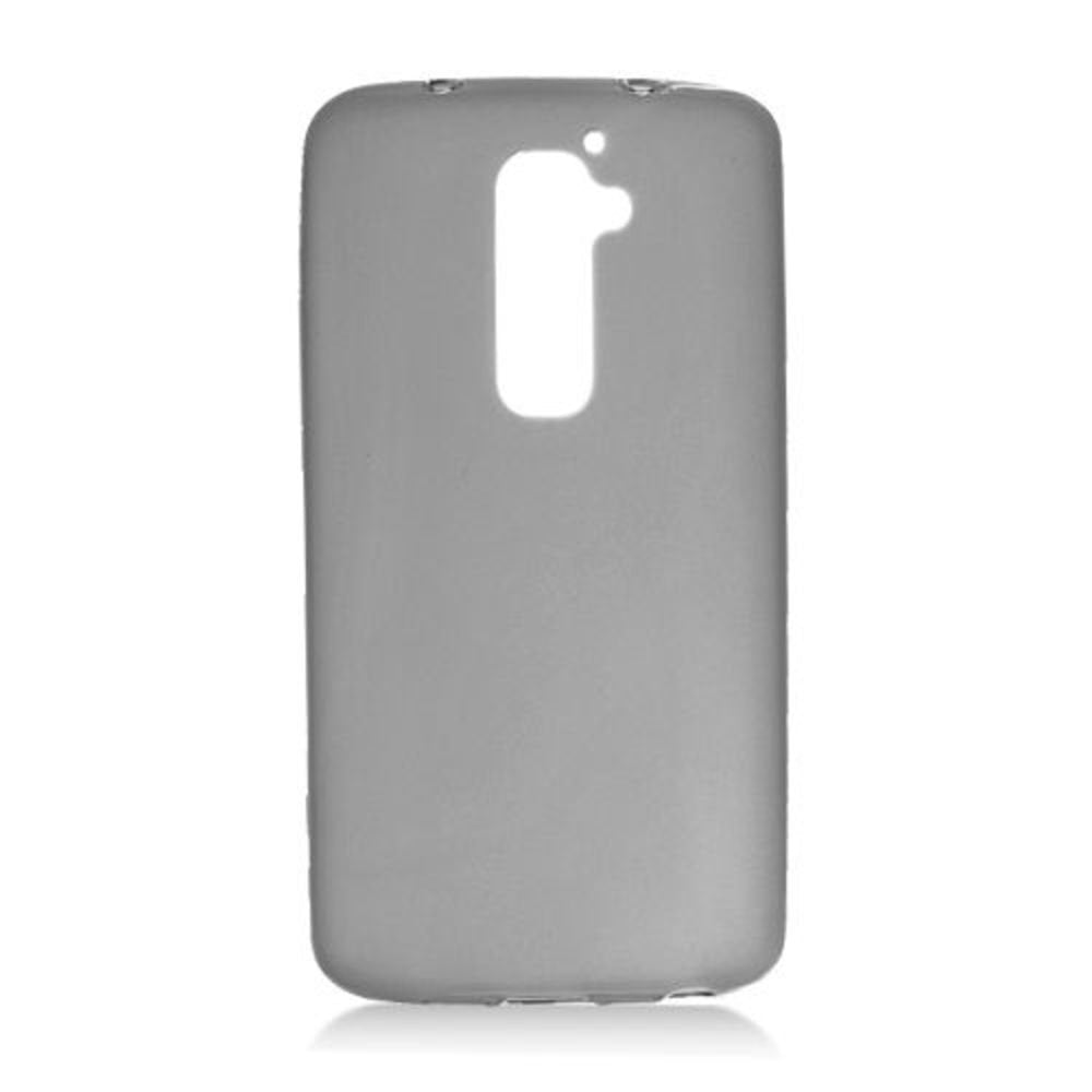 Eagle Cell Transparent Frosted Pattern Skin Case for LG G2 - Retail Packaging - Black
