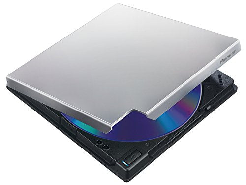 Pioneer Electronics USA Slim External Blu Ray Drive BDR-XD05S Silver