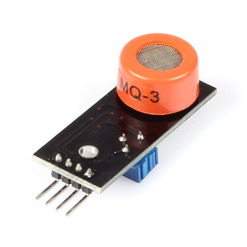 SainSmart MQ3 DC 10-1000ppm 4 Pin Alcohol Gas Sensor Module Detector for Arduino