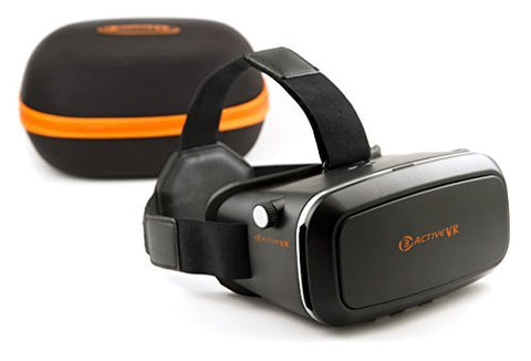 3ACTIVE VR Premium Virtual Reality Headset and Storage Case
