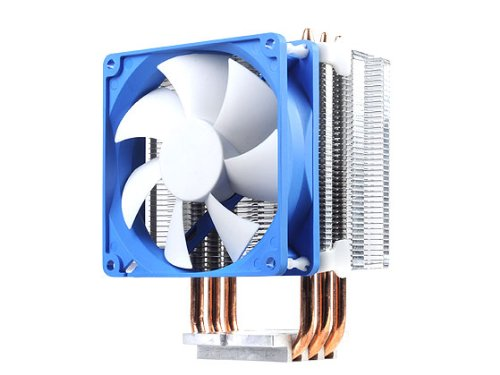 Silverstone Tek Argon Series CPU Cooler with 92mm Cooling Fan for Socket LGA775/1155/1156/1366/2011, AM2/AM3/FM1/FM2, White AR02