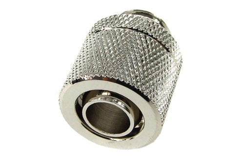 Enzotech 3/8 x 1/2 Silver Nickel Compression Fittings