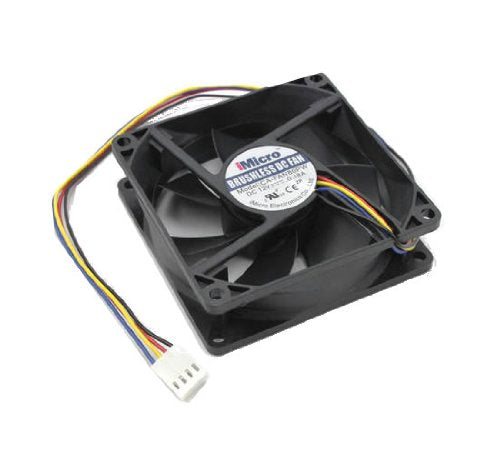 iMicro 80mm Sleeve Bearing Computer Cooling Case Fan (CA-FAN80PW)