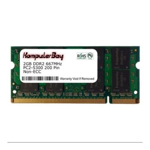 2GB Memory RAM Upgrade for the Lenovo Thinkpad R61 Series, T60 Series, T61 Series, X60 Series and X61 Series Laptops (DDR2-667, PC2-5300, SODIMM)