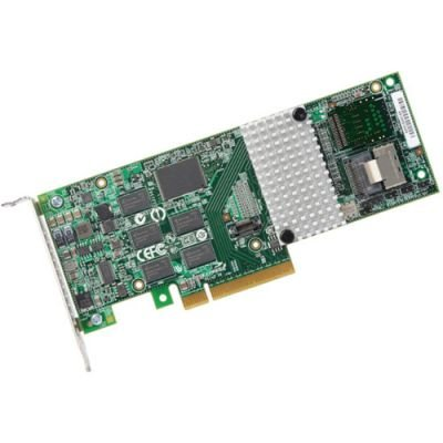 4-Port Int., 6Gb/S Sata+Sas, Pcie 2.0, 512Mb; In The Box: 3Ware Sas 9750-4I, On