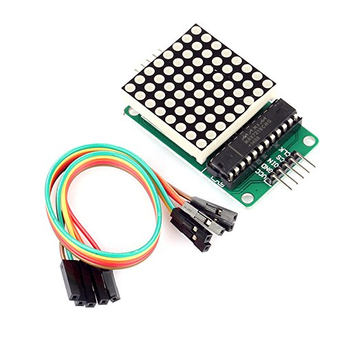 SainSmart MAX7219 Red LED Dot Matrix Display Module MCU Control DIY Kit for Arduino