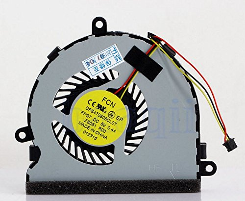 Rangale New Laptop CPU Cooling Fan For Dell Inspiron 15R 17 17R 3521 3721 5521 5535 5721 74X7K 074X7K DFS470805CL0T (Not fit for N5010 N5110 N7010 N7110 Series)