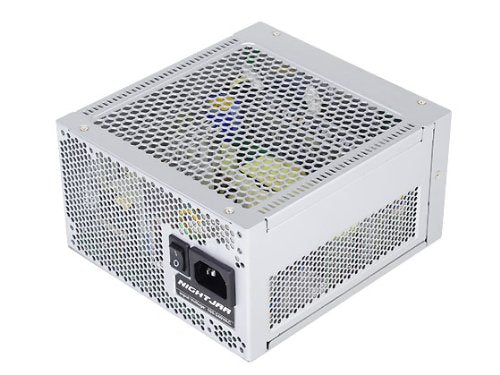 Silverstone Tek Nightjar Series 520W Completely Fanless 80PLUS Platinum Fully Modular Power Supply with Zero dBA Acoustics ATX 520 Power Supply NJ520