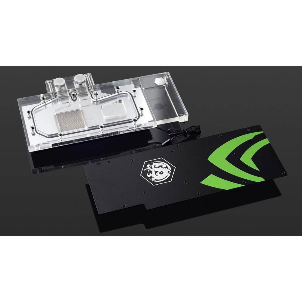 Bitspower GPU Waterblock for Nvidia GTX 1080 Ti Founder Edition, Clear Acrylic