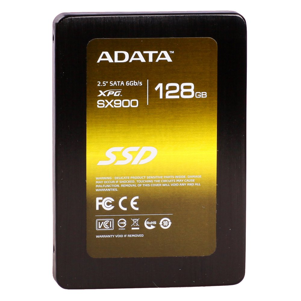 XPG by ADATA SX900 128GB 2.5 Inch SATA III Excellent Read up to 550MB/s Solid State Drive (ASX900S3-128GM-C)