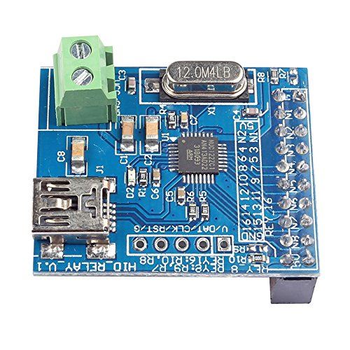 SainSmart 16-CH USB HID Programmable Control Relay Module