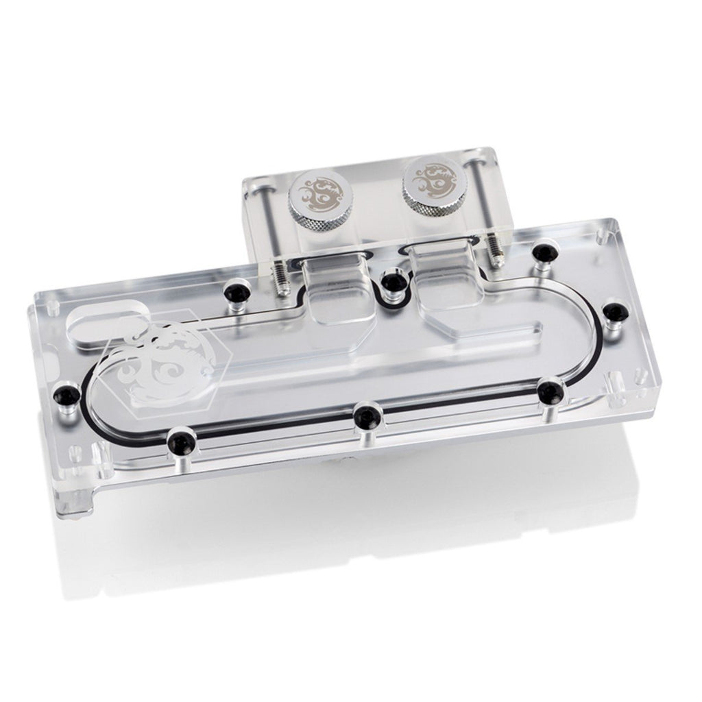 Bitspower SSD Waterblock for Intel Solid-State Drive 750 Series, Clear Acrylic