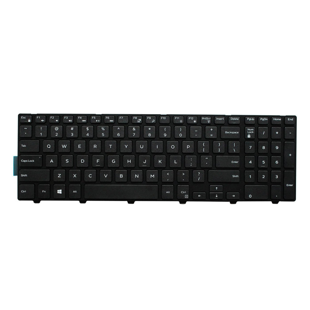 Keyboard for Dell Inspiron 15 3000 Series 3541 3542 3543 3552 3553 3558 3559 and 15 5000 Series 5542 5543 5545 5547 5548 5552 5557 5558 5559 and 17 5000 Series 5748 5749 5755 5758 5759 No Backlight