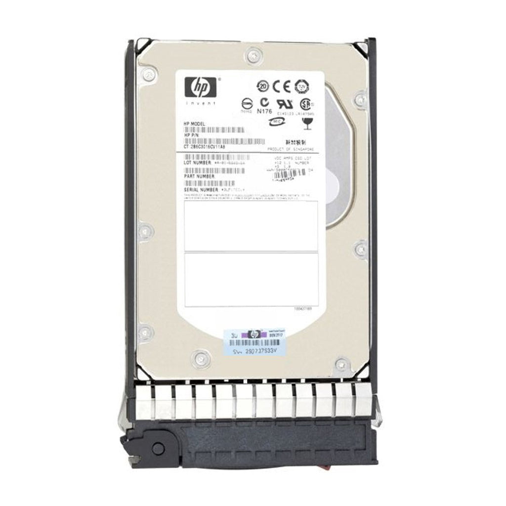 HP 517354-001 SAS Hard Drive 600GB 15K 3.5 6GBps Dual Port in Tray