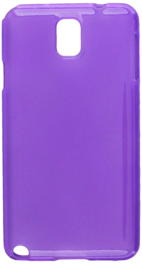 Eagle Cell Transparent Frosted Pattern Case for Samsung Galaxy Note 3 - Retail Packaging - Purple
