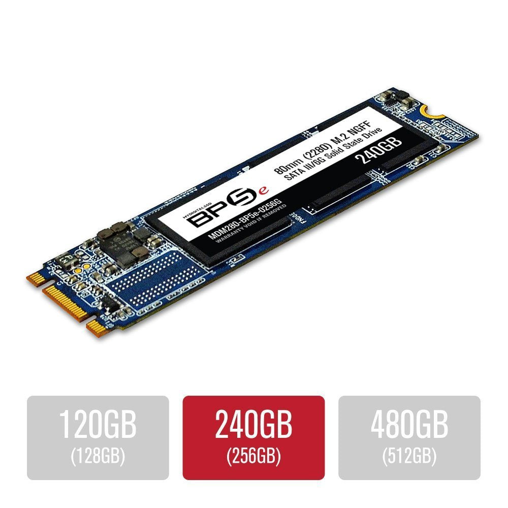 MyDigitalSSD 240GB (256GB) BP5e 80mm SATA III 6G M.2 2280 NGFF SSD Solid State Drive (Bullet Proof 5 Eco)