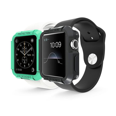 ZVE - Apple Watch Case 2-in-1 Watch Sport / Watch Edition 2015 2016 iWatch Protective Case Cover for Apple Watch (38 mm)