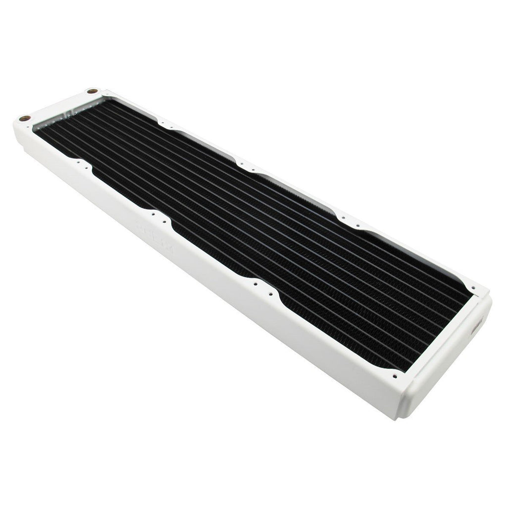 XSPC EX480 Radiator, 120mm x 4, Quad Fan, White