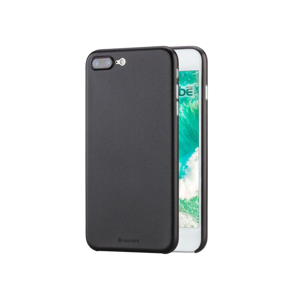 Caudabe Veil iPhone 7 Plus Ultra Thin Case with Matte Texture for iPhone 7 Plus (2016) - STEALTH BLACK