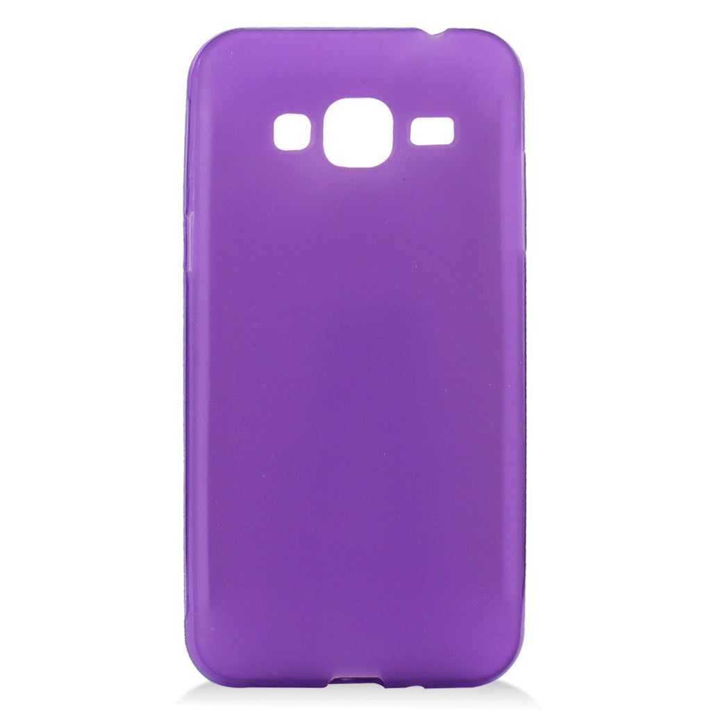 Eagle Cell Phone Case for Samsung Galaxy J3 - Retail Packaging - Purple
