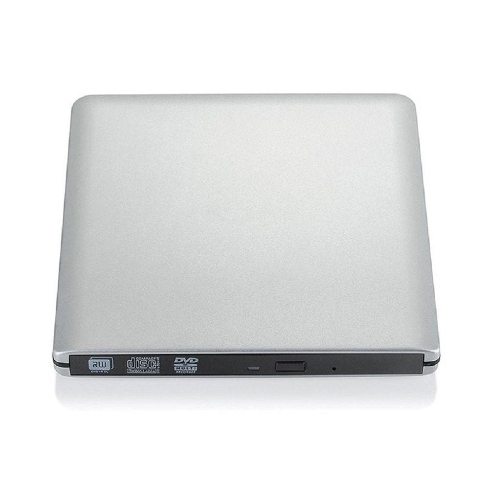 External DVD Drive,USB 3.0 Portable Burner Player CD ROM DVD RW Super Optical Drive for Apple Mac Macbook Pro Windows 10 Laptop PC