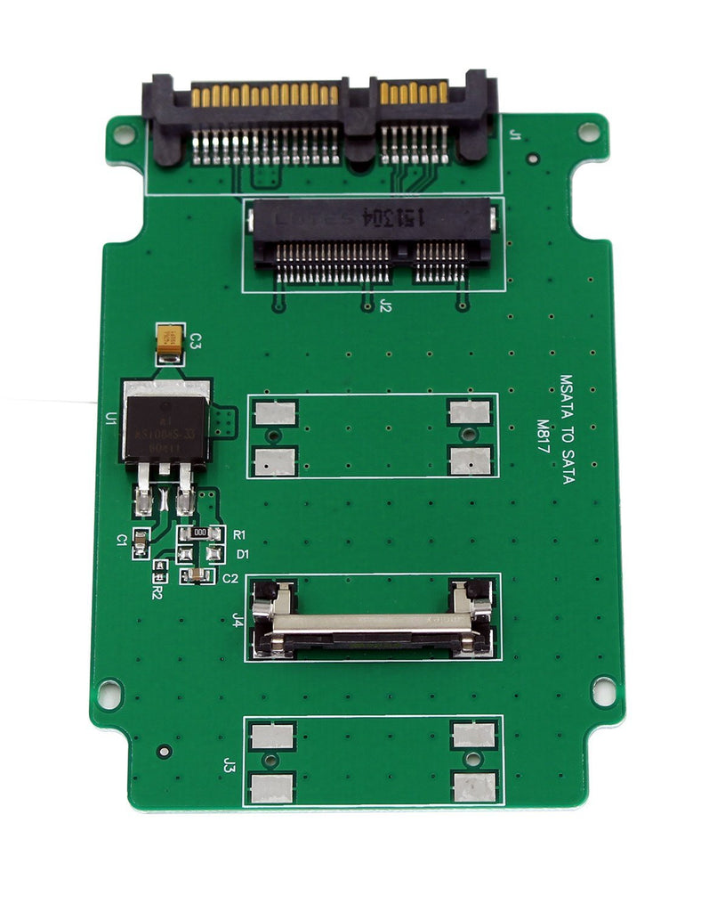 Aiposen mSATA SSD to 2.5-Inch SATA Adapter Converter Card