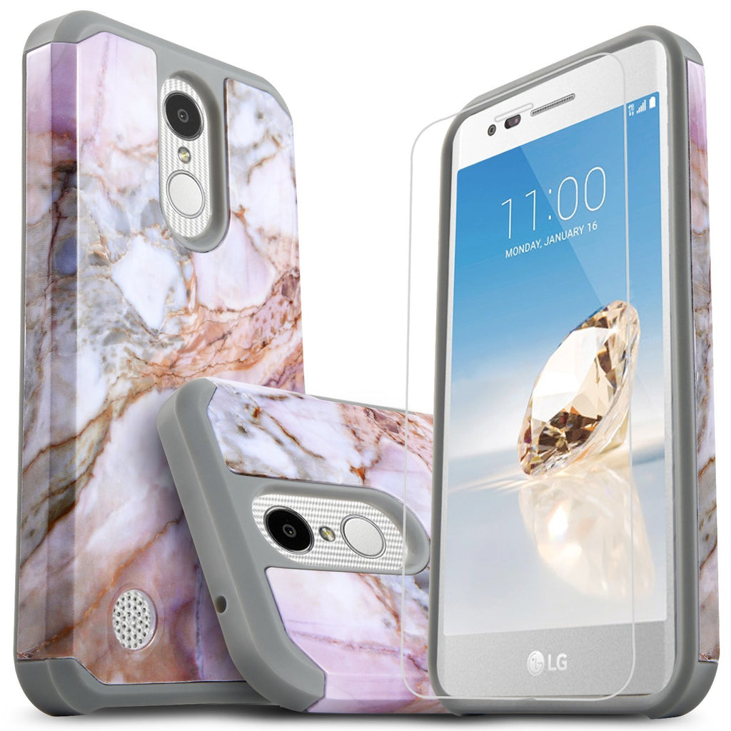 LG Aristo 2 Case, LG Zone 4 Case, LG Tribute Dynasty Case, Starshop [Shock  Absorption] Dual Layers Impact Advanced Protective Phone Cover With