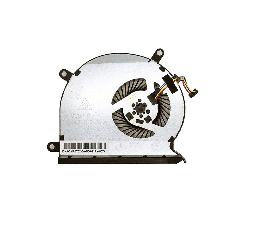Rangale New Laptop CPU Cooling Fan for HP ENVY Rove 20-k000ea 20-K014US AiO PC 20-K000 20-K100 series BSB0705HC CM74 4PINS 732481-001