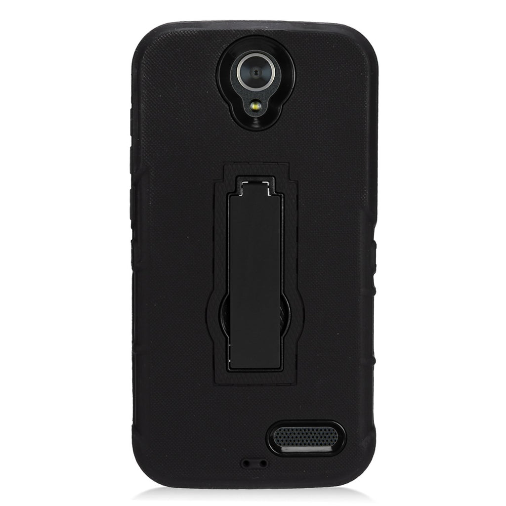 Eagle Cell Phone Case for ZTE Grand X3 Z959 - Retail Packaging - Zz0 Black