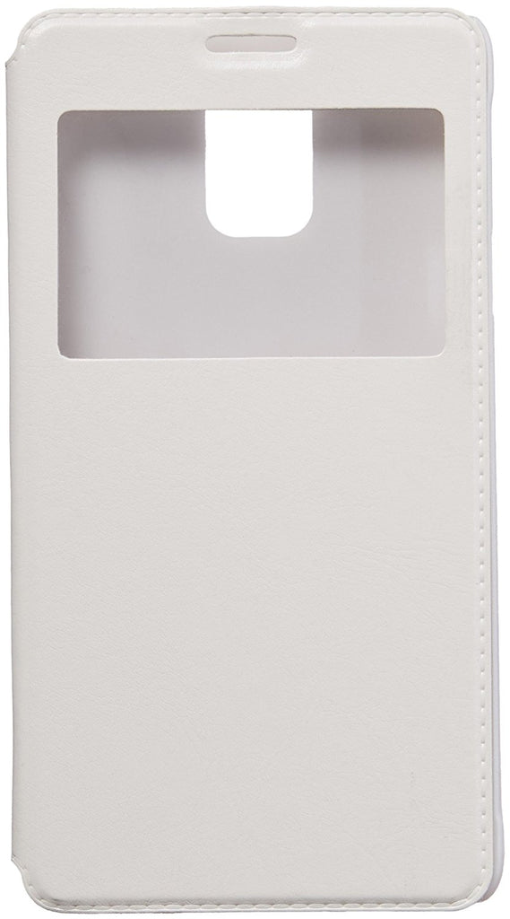 Eagle Cell Flip Case for SAMSUNG Galaxy Note 4 - Retail Packaging - White