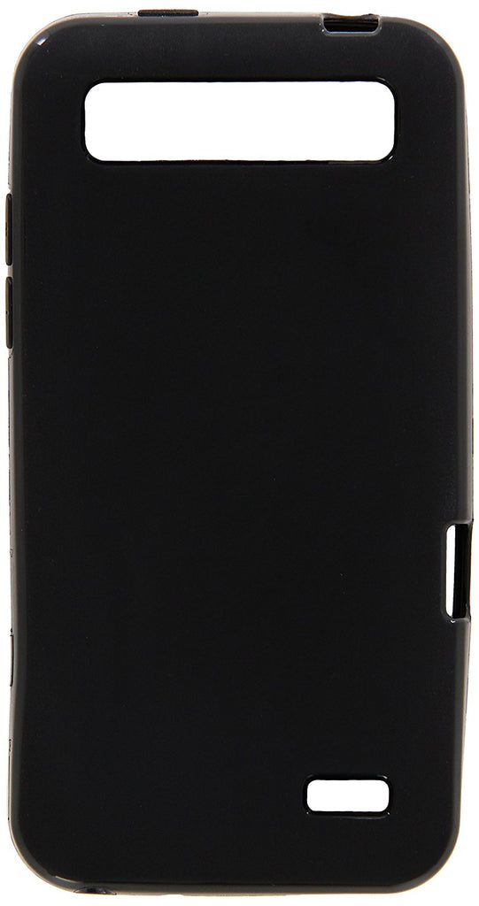 Eagle Cell ZTE Speed N9130 Solid TPU Gel Case - Retail Packaging - Solid Black