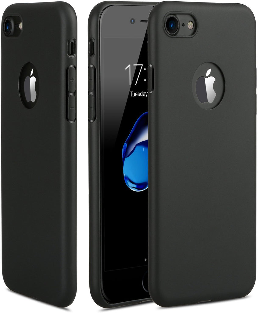 iPhone 7 Case, HZ BIGTREE 0.5mm Ultra-Thin [ Perfect Slim Fit ] [Light Weight] Soft Touch Flexible Case for Apple iPhone 7 4.7 inch [matte black]