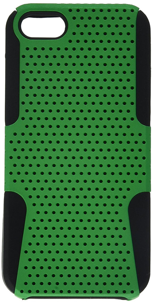 Eagle Cell Phone Case for Apple iPhone 5/5S/SE - Retail Packaging - Black/Green