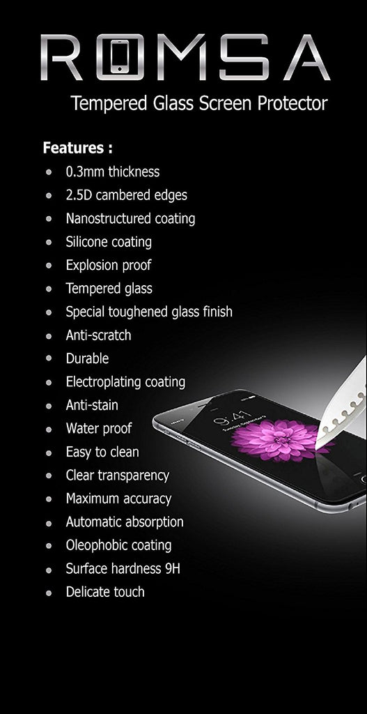 #1 Best Quality iPhone 6/6s Tempered Glass Screen Protector - Oleophobic Shatter and Scratch Resistant Ballistic 0.3mm 9H Protection - Invisible Gorilla Shield for HD Apple 6&6s - Case Compatible!