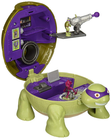 Teenage Mutant Ninja Turtles Micro Mutant Donatello's Lab Pet to Turtle Playset