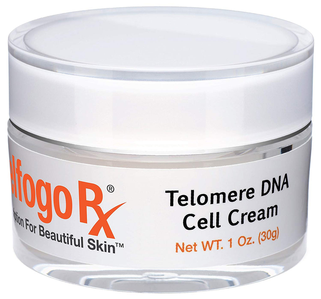 Delfogo Rx Telomere DNA Cell Cream | Telomerase (Medical Grade) Anti-Aging | SkinPro Repetitive Nucleotide Sequences