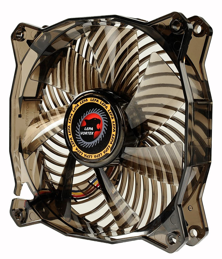 LEPA Vortex High Performance 120mm Case Fan with PWM Speed Control, LP-VX12P