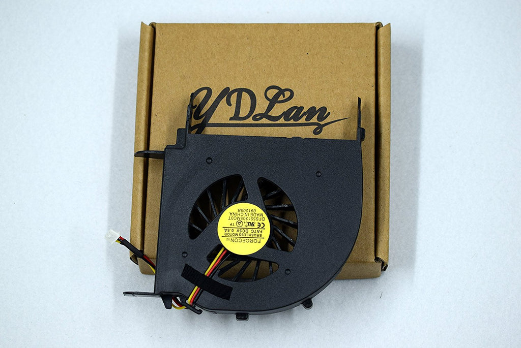 Rangale New CPU Cooling Fan For Hp Pavilion Dv7-2000 Dv7-3000 Dv7-3100 Dv7-3300 Series (Fit for Amd Cpu Only)